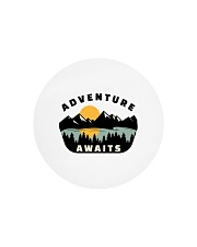 Camping Adventure Awaits Quote Love Camp Summer  Circle Cutting Board thumbnail