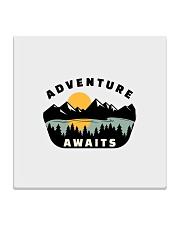 Camping Adventure Awaits Quote Love Camp Summer  Square Coaster thumbnail