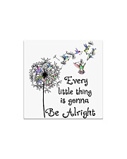 every little thing is gona be alright Square Magnet thumbnail