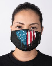 I love you heart American flag Cloth face mask aos-face-mask-lifestyle-01