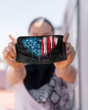 I love you heart American flag Cloth face mask aos-face-mask-lifestyle-07