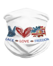 Love and peace Neck Gaiter thumbnail