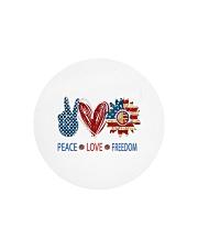 Love and peace Circle Cutting Board thumbnail