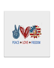 Love and peace Square Coaster thumbnail