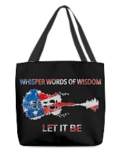 Let It Be - Whisper Words Of Wisdom All-over Tote thumbnail