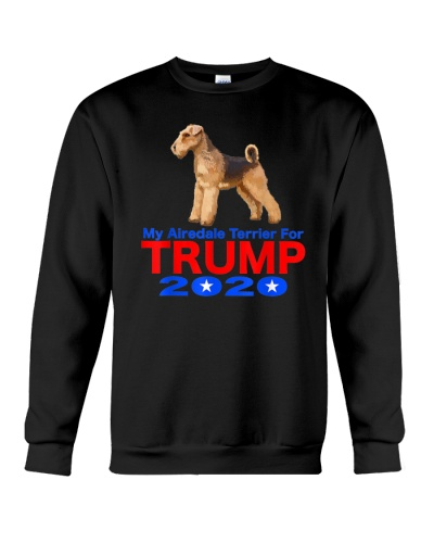 My Airedale Terrier for Trump