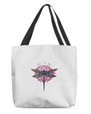 Let It Be Dragonfly Love Yoga Graphic w All-over Tote thumbnail
