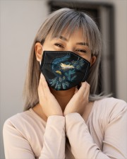 All good things are wild and fre Cloth face mask aos-face-mask-lifestyle-17