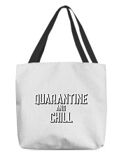 Quarantine and Chill Funny Virus All-over Tote thumbnail