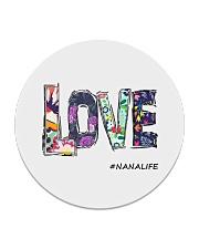 Love nana Circle Coaster thumbnail