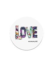 Love nana Circle Magnet thumbnail