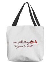 every little thing is gona be alright bird All-Over Tote tile