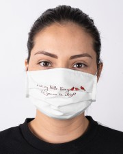 every little thing is gona be alright bird Cloth face mask aos-face-mask-lifestyle-01