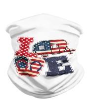 Love Camping USA Flag Flip Flop Camper Neck Gaiter thumbnail