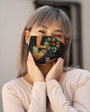 Hippie love Cloth face mask aos-face-mask-lifestyle-17