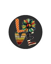 Hippie love Circle Cutting Board thumbnail