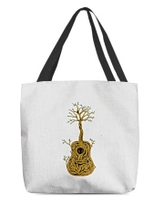 Acoustic Guitar Tree of Life All-over Tote thumbnail