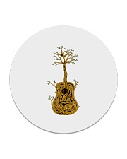 Acoustic Guitar Tree of Life Circle Coaster tile