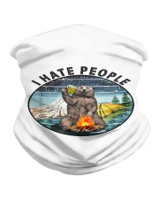 Retro Vintage Bear Camping I Hate People G Neck Gaiter thumbnail