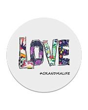 Love grandma Circle Coaster thumbnail