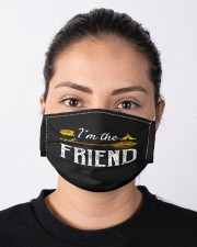 Im the friend Cloth face mask aos-face-mask-lifestyle-01