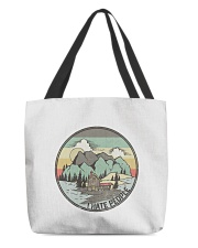 Funny I hate people Vintage Camping All-Over Tote tile