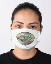 Funny I hate people Vintage Camping Cloth face mask aos-face-mask-lifestyle-01