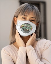 Funny I hate people Vintage Camping Cloth face mask aos-face-mask-lifestyle-17
