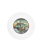 Funny I hate people Vintage Camping Circle Cutting Board tile
