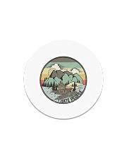 Funny I hate people Vintage Camping Circle Magnet tile