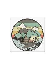 Funny I hate people Vintage Camping Square Magnet tile