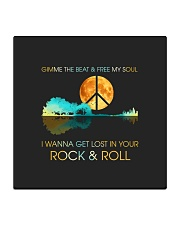 I wanna get lost in your rock n roll Square Coaster thumbnail