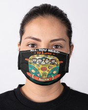All you need is love Cloth face mask aos-face-mask-lifestyle-01