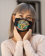 All you need is love Cloth face mask aos-face-mask-lifestyle-17