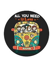 All you need is love Circle Coaster thumbnail