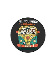 All you need is love Circle Magnet thumbnail