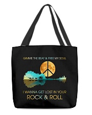 I wanna get lost in your rock n roll All-over Tote thumbnail