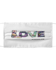 Love mom Cloth face mask front