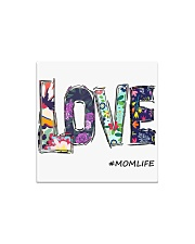 Love mom Square Magnet thumbnail
