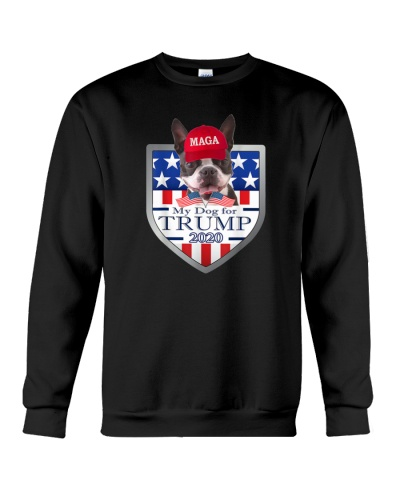 My Boston Terrier For Trump