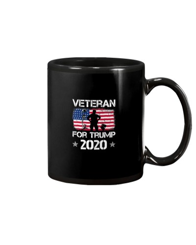Veterans For Trump 2020 Shirt Military