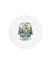 Womans Stay Trippy Little Hippie w Circle Cutting Board thumbnail
