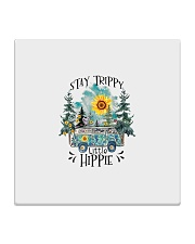 Womans Stay Trippy Little Hippie w Square Coaster thumbnail