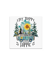 Womans Stay Trippy Little Hippie w Square Magnet thumbnail