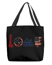 I love camping All-over Tote thumbnail