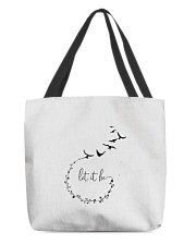 Let It Be Birds Hippie G All-over Tote thumbnail
