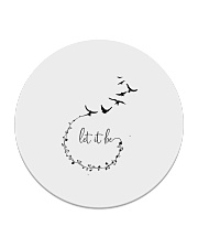 Let It Be Birds Hippie G Circle Coaster thumbnail