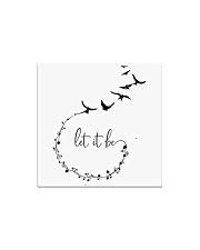 Let It Be Birds Hippie G Square Magnet thumbnail