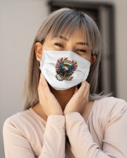 America Love It Or Leave It Cloth face mask aos-face-mask-lifestyle-17