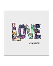 Love gigi Square Coaster thumbnail